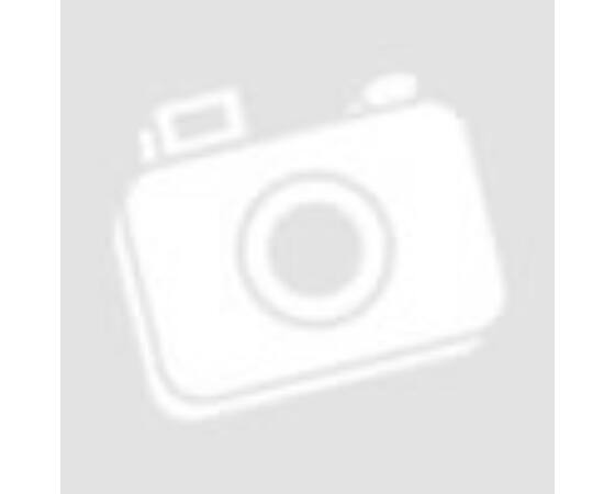 Nemesacél fülbevaló, zöld csepp